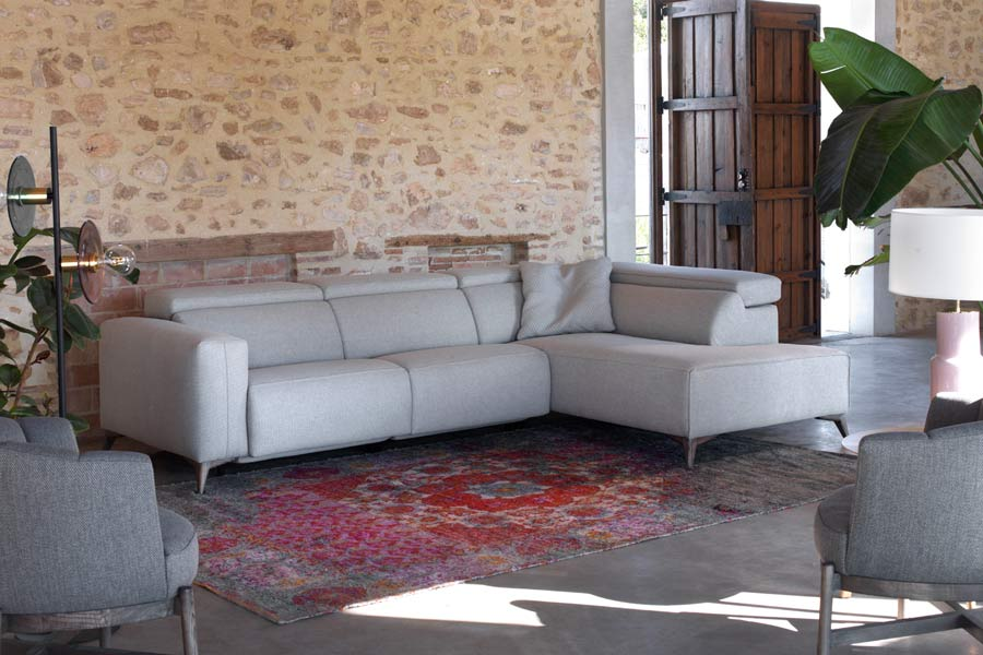 Sofás con chaise longue en Pamplona