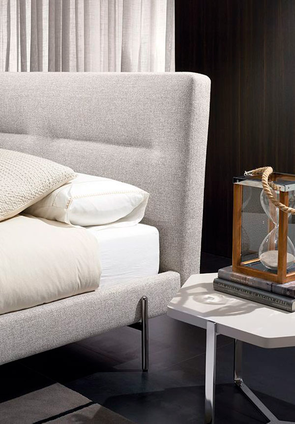 Cabecero de la cama acolchado en Pamplona